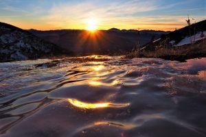 Fonte de la neige - Photo Yann Marchais